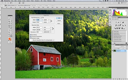 A Rough Guide to Image Resolution
