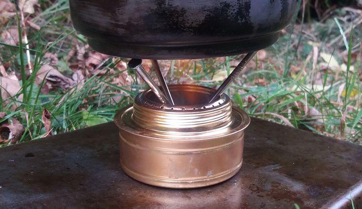 DIY Trangia Pot Stove Stand   DIY Trangia Pot Stand Nailed!