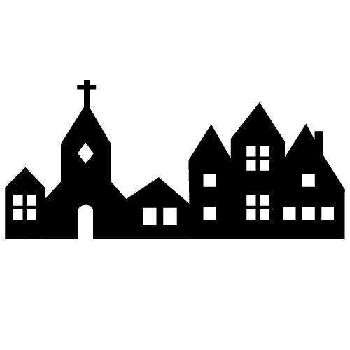 39 besten silhouette plotter city home bilder auf. Black Bedroom Furniture Sets. Home Design Ideas
