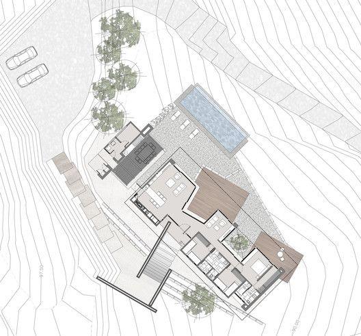 San Esteban House,Floor Plan