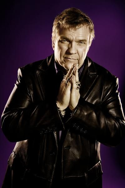 I love the singer Meat Loaf. I've seen him in concert twice and now that he's retiring I want to meet him!