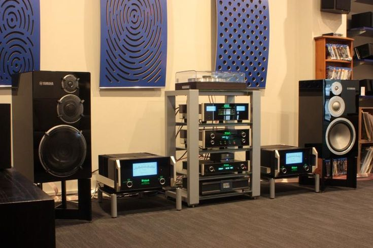 This Stereo Will Blow Your Hair Back - McIntosh Reference System |  #TLPCHC #TLPWLG McIntosh C1100 Tube Pre-Amp 2 x McIntosh MC601 Mono-Block Amplifiers Yamaha NS-5000 Speakers Isotek Power Filtration