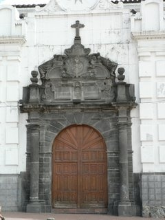 Puerta falsa iglesia de San Juan en Pasto - Nariño