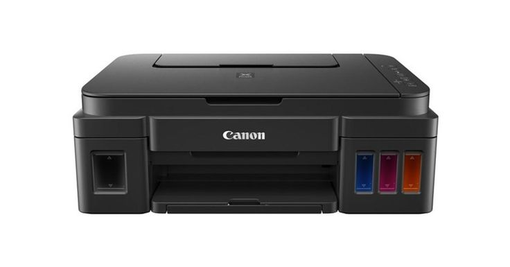 From My Office: The Canon Printer Without Ink Cartridges -