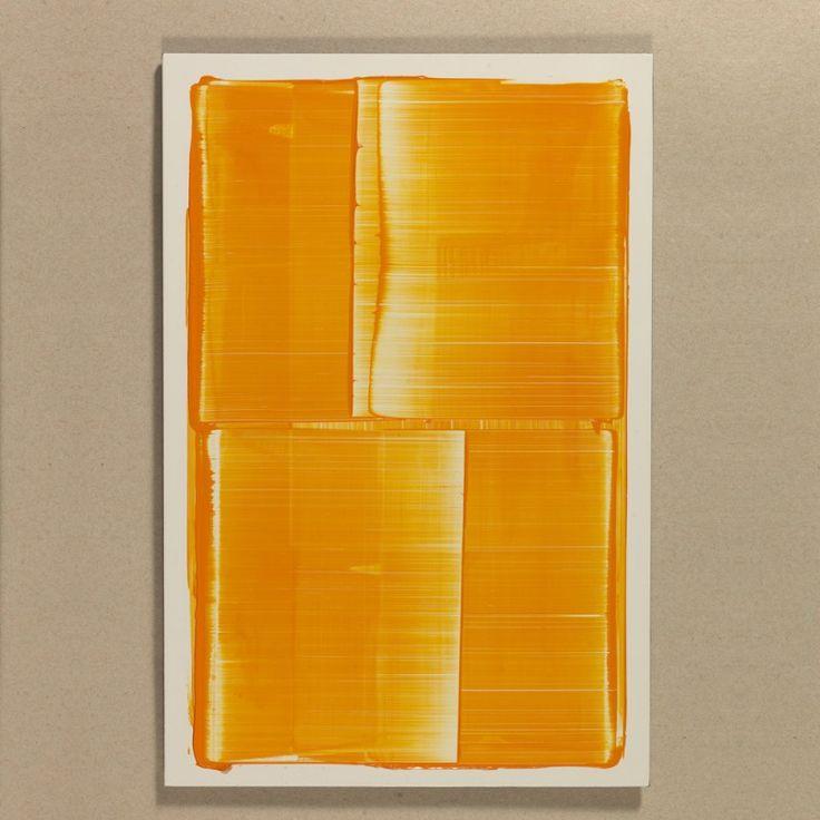 Noel Ivanoff, horizontal slider – orange, 2014, Auflage 6 (+1), Unikate Ac