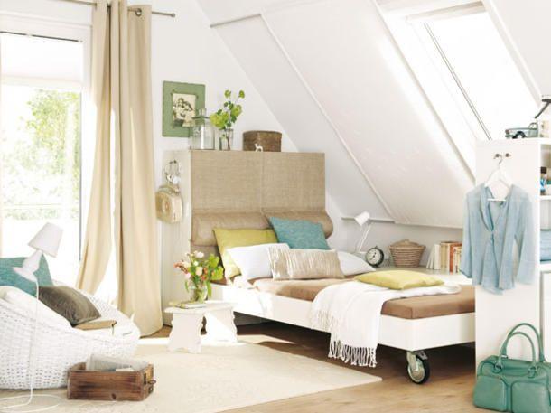 Gästezimmer clever einrichten: Bewegliches Bett