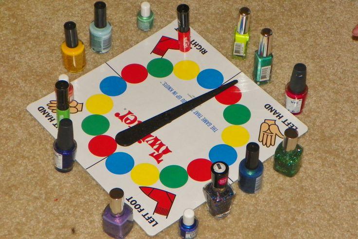 "Tween version of ""spin-the-bottle""...great girls slumber party idea!!"