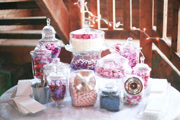 Trendy Wedding, blog idées et inspirations mariage ♥ French Wedding Blog: Buffet : Le bar à bonbons