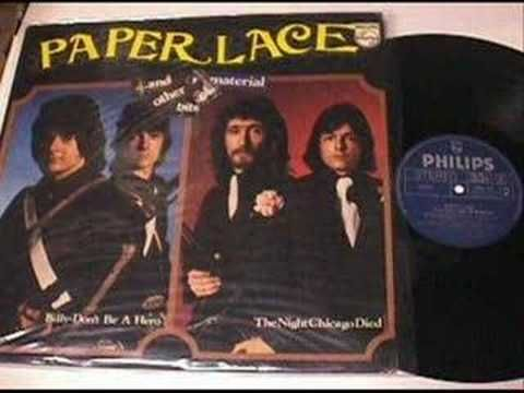 """The Night Chicago Died"" — Paper Lace 