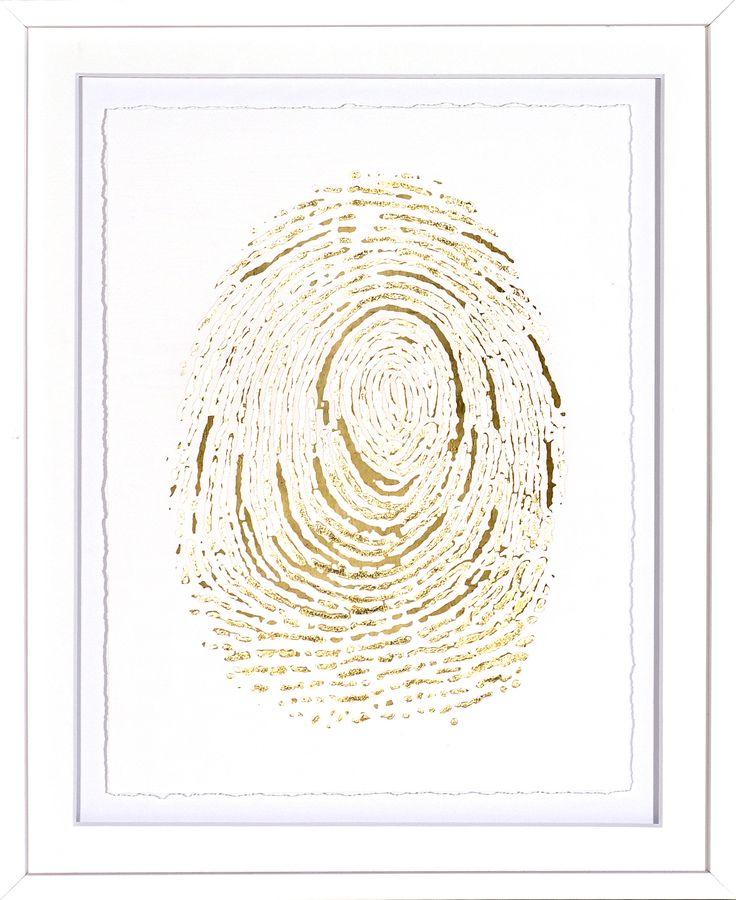 Gold Finger Print IV