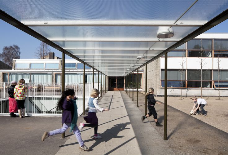 Munkegaard School, Copenhagen, Denmark, Dorte Mandrup Architects