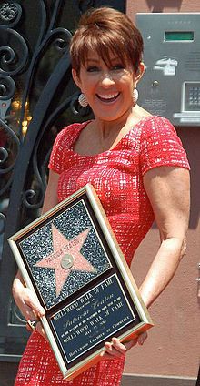 Patricia Heaton at a ceremony to receive her star on the Hollywood Walk of Fame, May 2012
