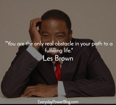 Les Brown quotes