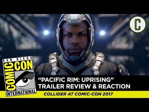 Pacific Rim: Uprising Teaser Trailer Reaction & Review - SDCC 2017 - YouTube