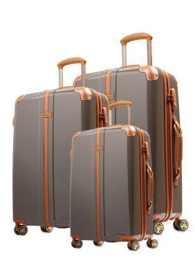 Hartmann  Herringbone Hard Side Luggage Collection - Terracotta