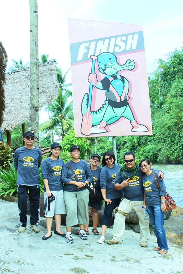 HAPPY RAFTERs : Adventure with CARE #Caldera_Indonesia #Rafting Citarik - Sukabumi, West Java Indonesia
