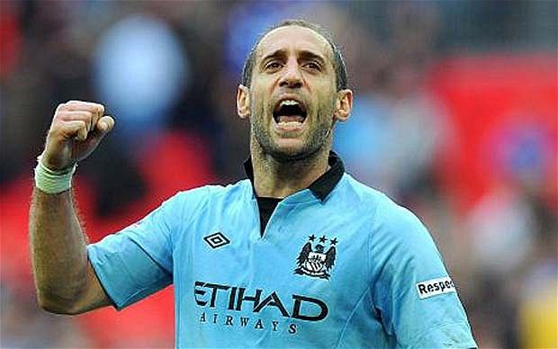 FA Cup final 2013: Pablo Zabaleta hoping for starring role at Wembley #harderthanJaapStam