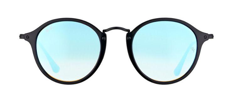 Ray·Ban RB2447 - 901/4O - Azul/Negro: La popular forma redonda tiene un nuevo aspecto. Prepárese para el modelo Ray·Ban RB2447.