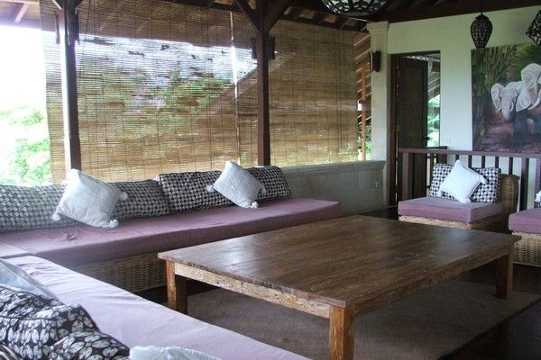 Open Style Living Area of Hillside Villa in Balangan Jimbaran bali
