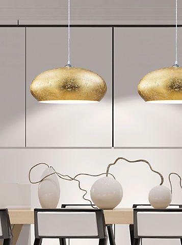 TRIO Leuchten Pendelleuchte, 1flg., »OTTAWA« in kupferfarbig, innen weiß im Online Shop von Baur Versand