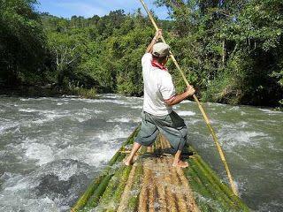 Rafting dengan Bambu, Siapa berani? | Rafting Bandung