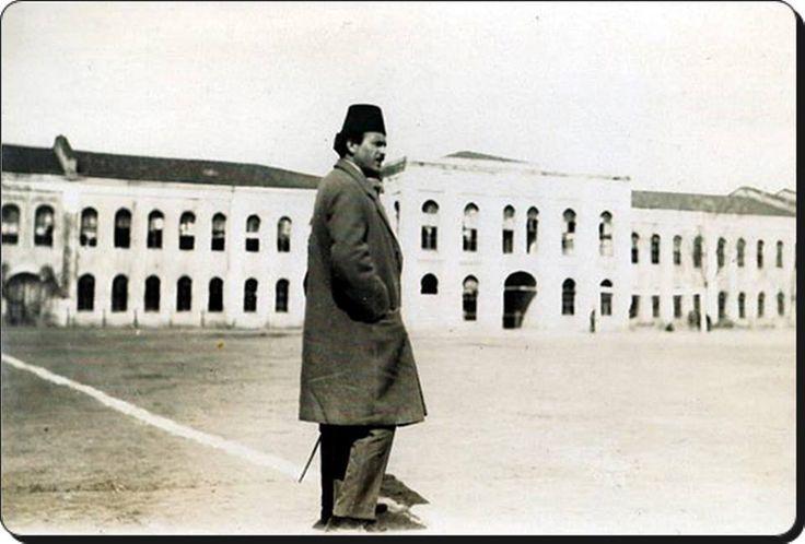 Taksim stadı ve Ali Sami Yen bey - 1920'ler