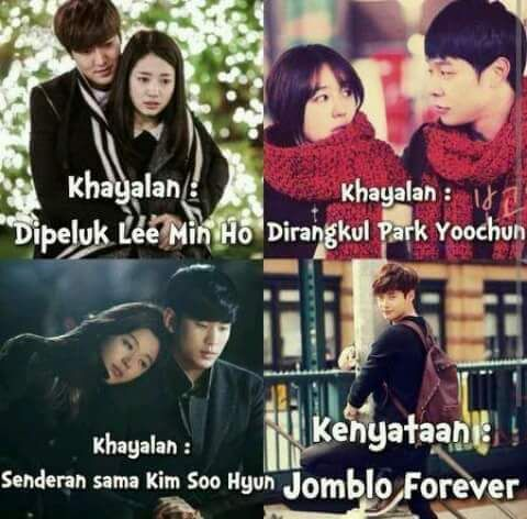 Semuanya hanya khayalan  #kpopmeme #meme #dramameme #memes #drama #leeminho #parkyoochun #yoochun #kimsoohyun #soohyun #koreandrama #dramakorea #koreanactor #koreanactress #aktor #aktris #funny #lucu