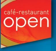 Restaurant Open   Westerdoksplein 20  Amsterdam  020 620 10 10