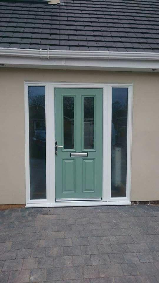 Chartwell green composite door from .xtremedoor.co.uk & 33 best Chartwell Green Front Doors images on Pinterest | Green ...