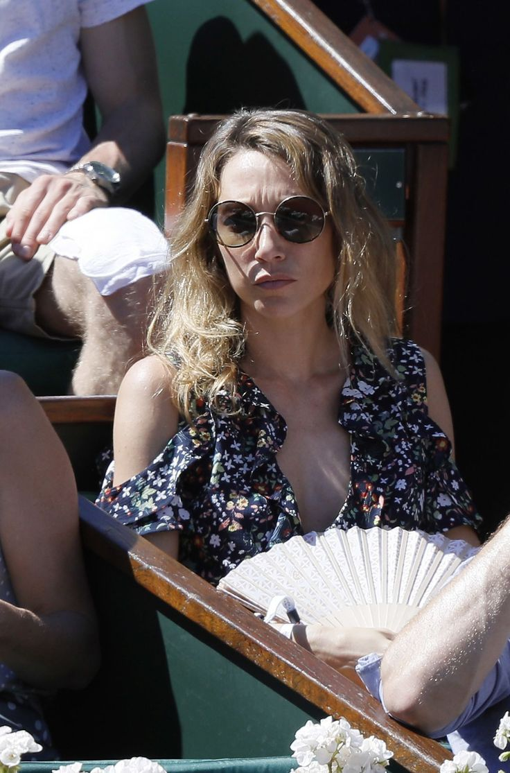 Laura Smet At The French Open Mens Final At Roland Garros
