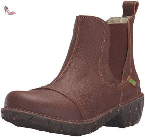 El Naturalista N158 SOFT GRAIN GRAFITO / YGGDRASIL Grigio - Chaussures Low boots Femme
