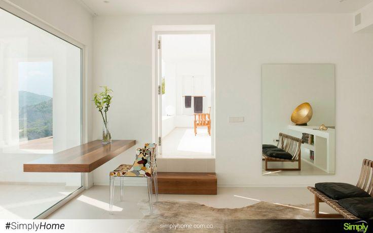 EL mejor espacio, es aquel que esta distribuido a tu gusto. #SimplyHome #SimplyHomeCol #Simply #Home #Decoracion