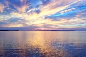 There is nothing like a Georgian Bay Sunset! 2 hour non stop cruise aboard the Great Blue Heron.  Sunset Cruise Tobermory