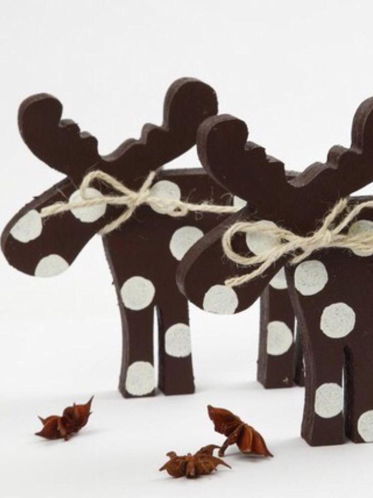 elch holz bastelidee dekoidee weihnachtsdeko diy weihnachten pinterest elch. Black Bedroom Furniture Sets. Home Design Ideas
