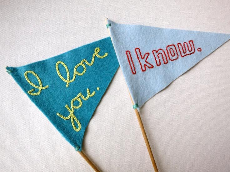 Wedding Cake Flags