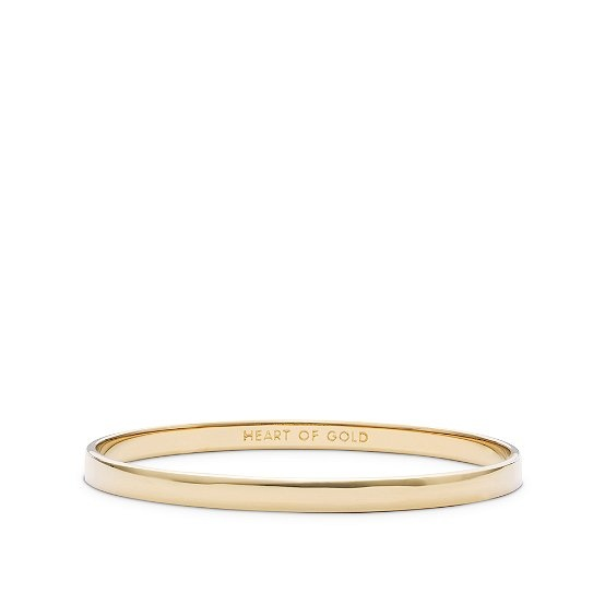 "Kate Spade ""heart of gold"" bangle sweet gift for a teacher... or anyone really :)"