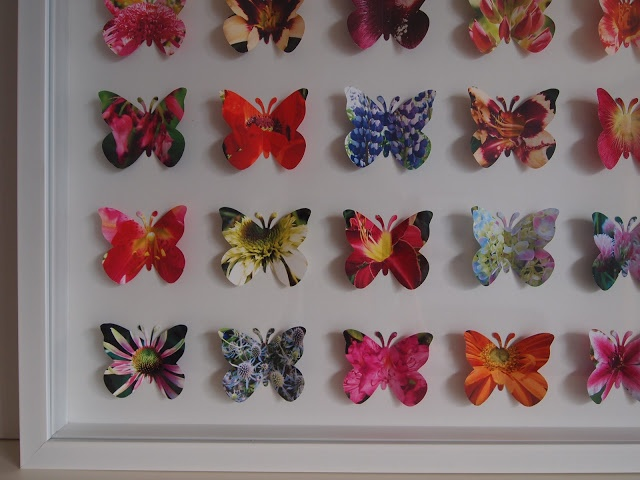 D Butterfly Art And Craft