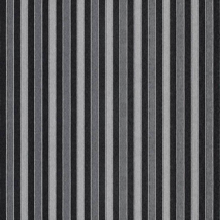 Warwick Fabrics : CARMELLA, Colour EBONY