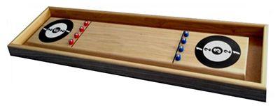Wooden Shuffleboard Game