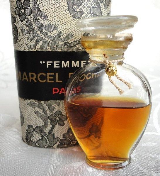 "RARE VINTAGE "" FEMME "" PARFUM MARCEL ROCHAS PARIS IN BOX | eBay"
