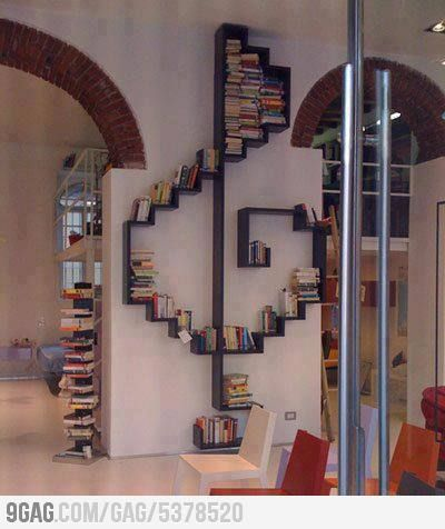 You need this: Bookcase, Bookshelves, Ideas, Music Note, Treble Clef, Bookshelf, Book Shelves, House, Music Room