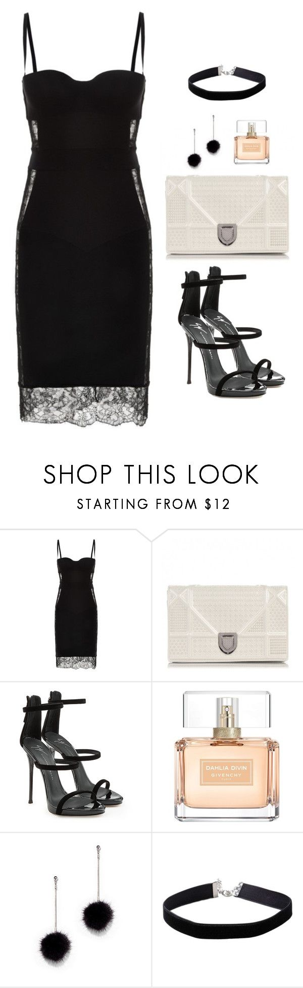 """""""Untitled #623"""" by hayleyl22 ❤ liked on Polyvore featuring La Perla, Christian Dior, Giuseppe Zanotti, Givenchy, New York & Company and Miss Selfridge"""