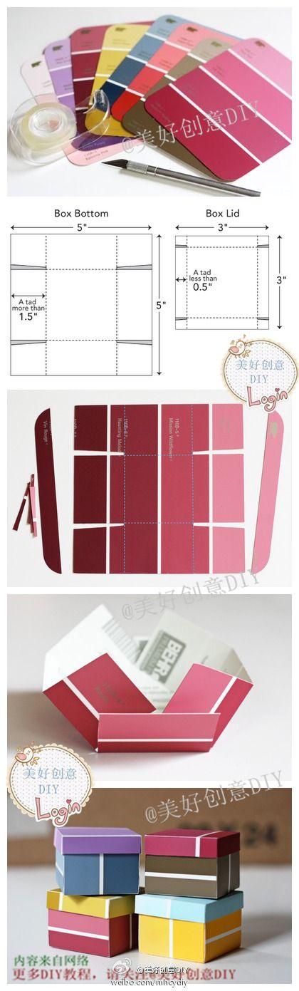 Boxes #tutorial #DIY #doityourself #handmade #crafts #stepbystep #howto #budget…