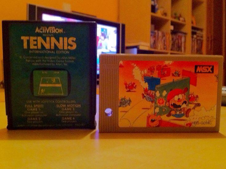 Activision Tennis y Dorodon.
