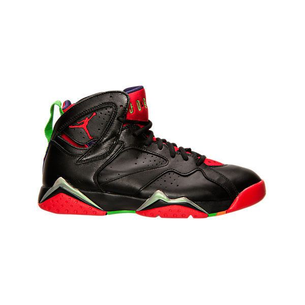 Nike Men's Air Jordan Retro 7 Basketball Shoes ($55) ❤ liked on Polyvore featuring men's fashion, men's shoes, men's athletic shoes, black, nike mens athletic shoes, mens black shoes, mens leopard print shoes and mens shoes