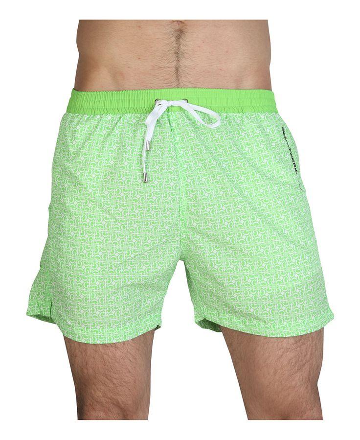 Ferré beachwear - costume uomo - 100% nylon - lavare a 30° - Costume uomo Verde