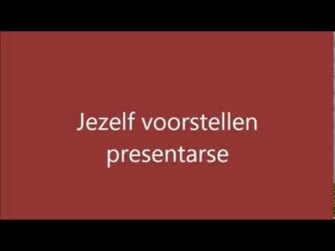 Spaans leren Les 1 Jezelf voorstellen