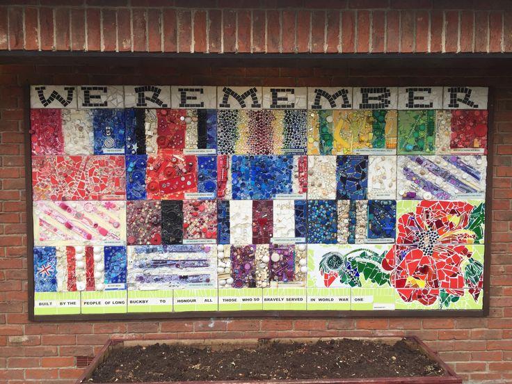 War Memorial, Long Buckby Northamptonshire