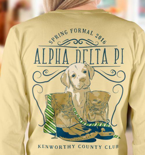 Adorable tee shirt design!