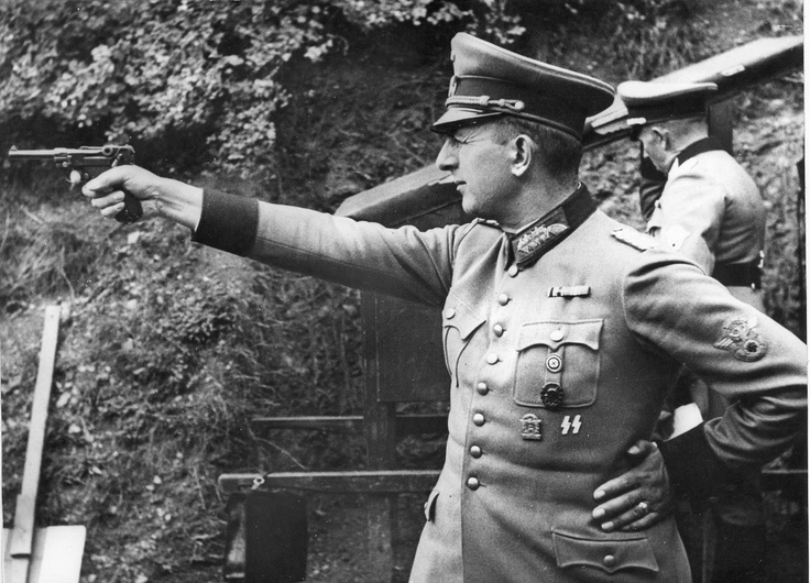 Deputy Reich Protector of Bohemia and Moravia and General of SS and Police Kurt Daluege. Daluege was hanged in Prague in October 1946 as the Nazi organizer of mass atrocities against the Czech people.
